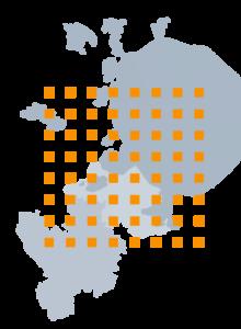 Карта газификации Москвы